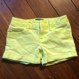 Gap Girls Neon Jean shorts